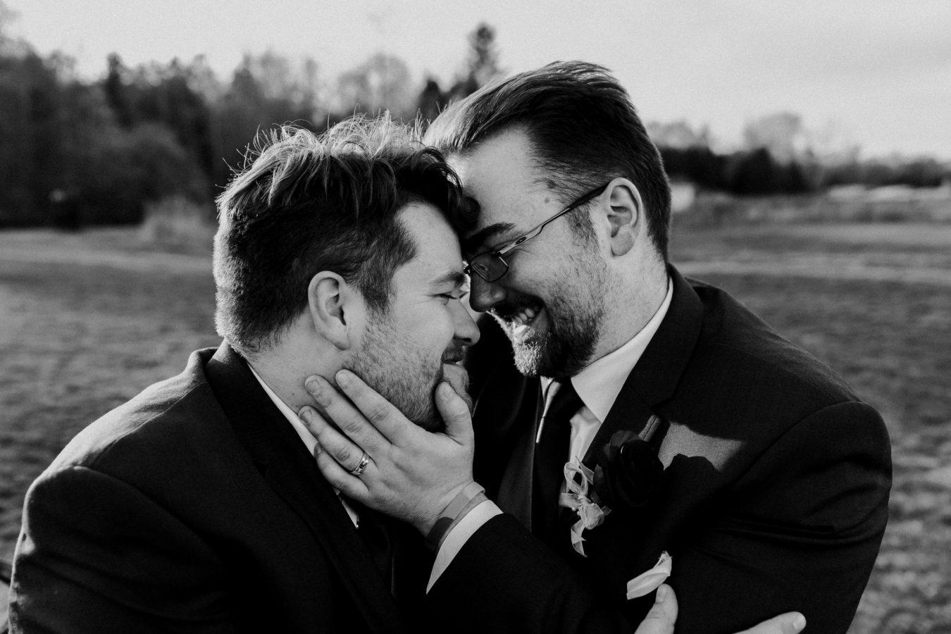 lgbtq wedding photographer, same sex wedding photographer, groom wedding, toronto wedding photographer