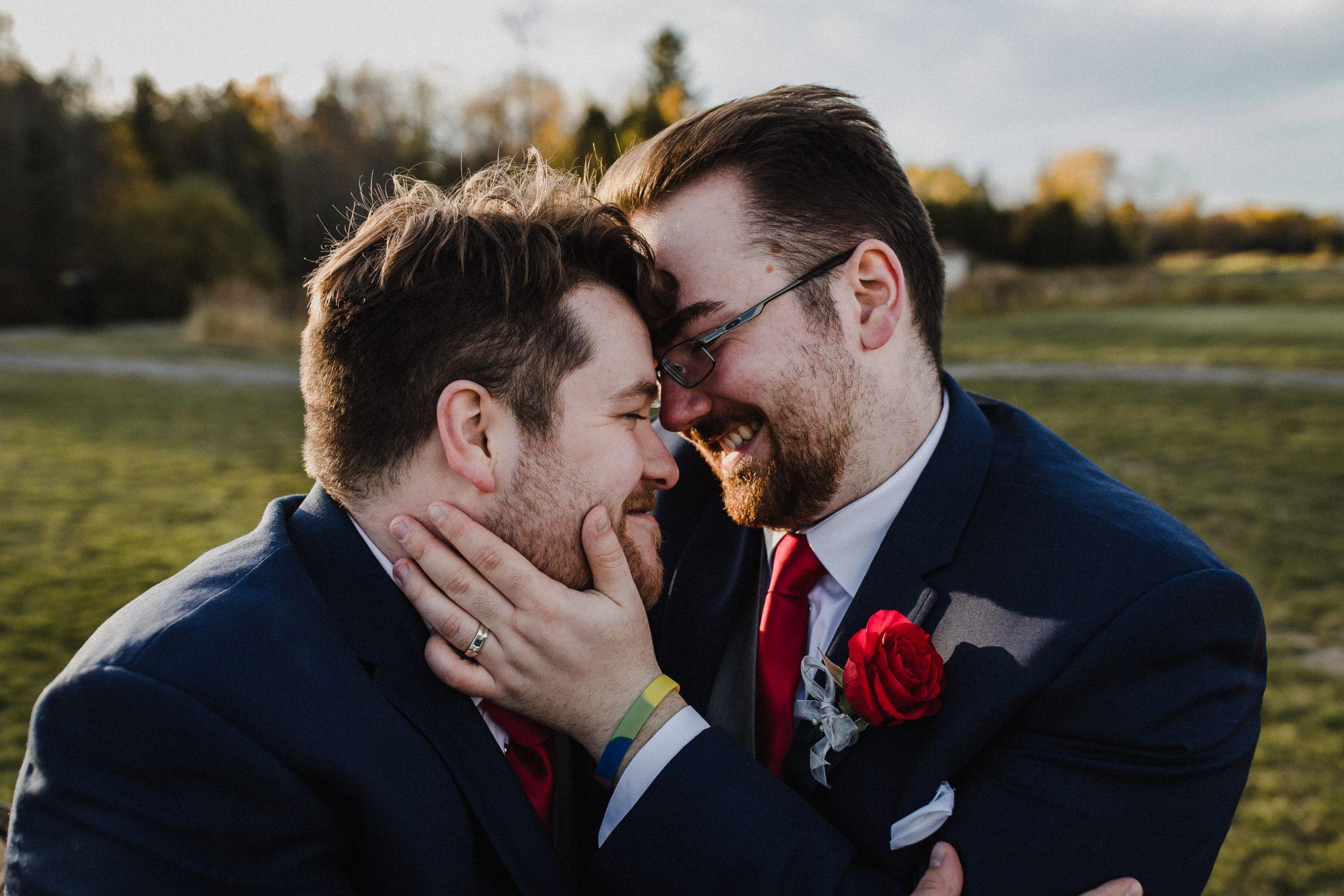 peterborough two groom wedding