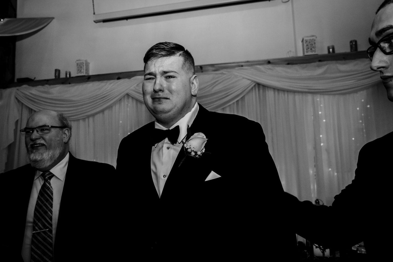 wedding ceremony, groom crying, toronto wedding photographer